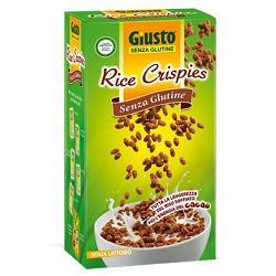 GIUSTO SENZA GLUTINE RICE CRISPIES CACAO 250 G - FARMAPRIME