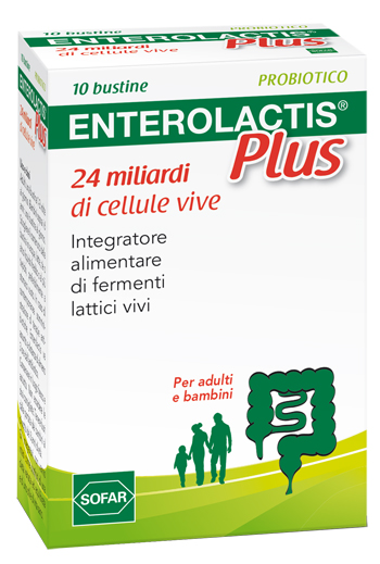 Enterolactis Plus Polvere 10 Bustine - Sempredisponibile.it