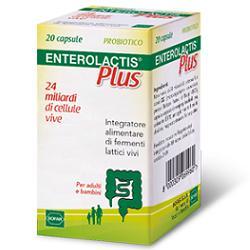 ENTEROLACTIS PLUS 20 CAPSULE - Farmaciaempatica.it
