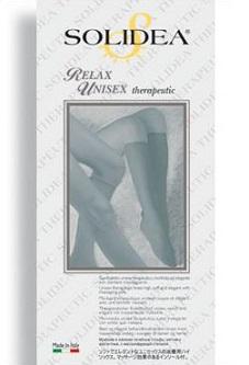 Solidea Relax Unisex Class 2 Gambaletto Compressivo Terapeutico Colore Naturale Taglia XL
