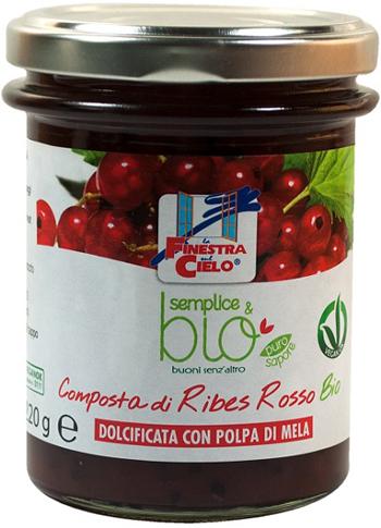 COMPOSTA DI RIBES ROSSO 220 G - Farmaseller