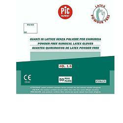 GUANTO PIC CHIRURGICO IN LATTICE STERILE SENZA POLVERE MISURA 8,5 - Farmacielo