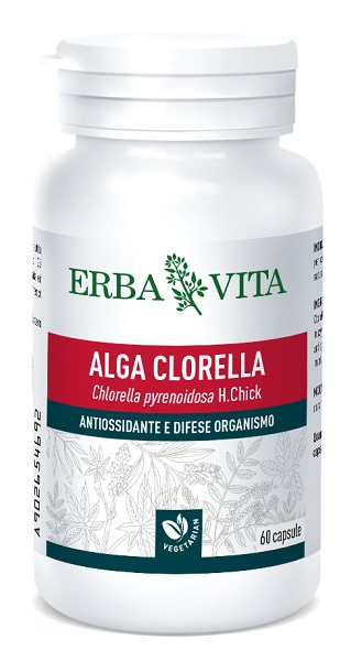 ALGA CLORELLA 60 CAPSULE - Farmastar.it