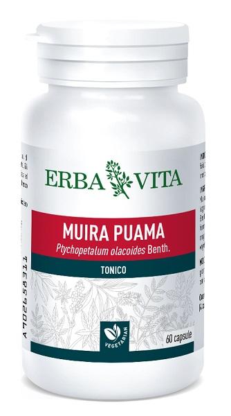 Erba Vita Muira Puama Integratore Tonico 60 Capsule offerta
