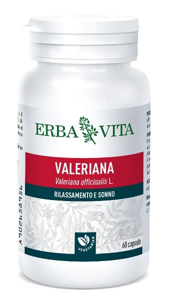 Erba Vita Valeriana Integratore Rilassante 60 Capsule offerta