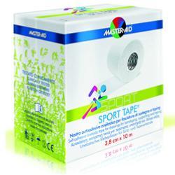 MASTER-AID SPORT TAPE NASTRO AUTOADESIVO ELASTICO PER FASCIATURE DI SOSTEGNO 3,8X10 CM - Farmapage.it