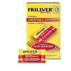 FRILIVER ENERGY CREATINA GUARANA 20 TAVOLETTE - Farmacistaclick