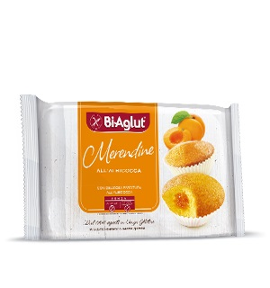 Bi Aglut Senza Glutine Merendine Albicocca 180 g offerta