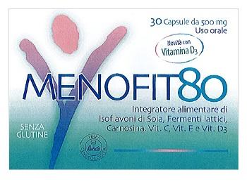 MENOFIT80 30 CAPSULE CON VITAMINA D3 - Farmapass