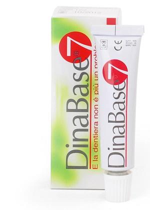 Dinabase 7 Ribasante Gel Adesivo per Dentiere 20 g offerta