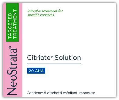 NEOSTRATA CITRIATE SOLUTION PAD 8 DISCHETTI - Farmaciacarpediem.it