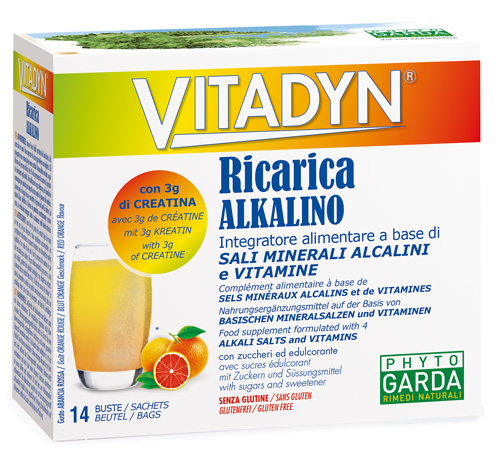 VITADYN RICARICA ALKALIN 14 BUSTINE - Farmapage.it