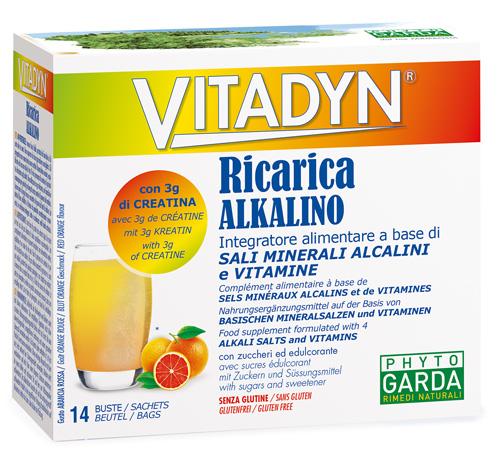 VITADYN RICARICA ALKALIN 14 BUSTINE - Spacefarma.it
