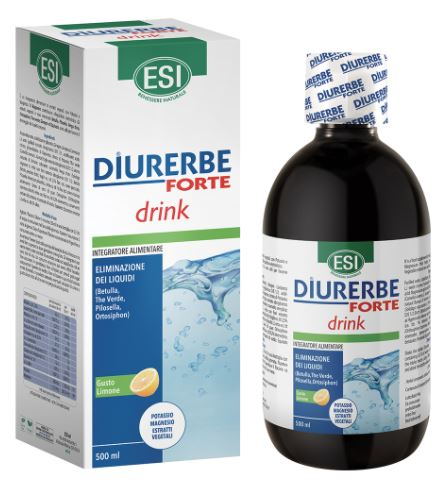 ESI DIURERBE FORTE DRINK LIMONE 500 ML - Farmaconvenienza.it