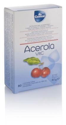 ACEROLA VITAMINA C 80 TAVOLETTE - Farmaseller