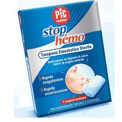 TAMPONE EMOSTATICO STERILE STOP HEMO 5BUSTE - Farmafirst.it
