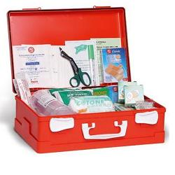 CASSETTA COMPLETA DI PRONTO SOCCORSO ALLEGATO 1 DM 388 DEL 15/7/2003. - farmaciadeglispeziali.it