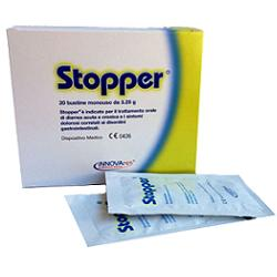 STOPPER GRANULARE DA DISPERDERE IN ACQUA 20 BUSTINE X 65 G - farmaciadeglispeziali.it