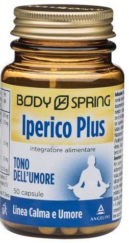 BODY SPRING IPERICO PLUS 50 CAPSULE - farmaciafalquigolfoparadiso.it