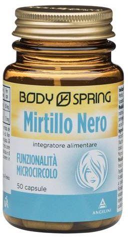 Body Spring Mirtillo Nero 50 Capsule - Arcafarma.it
