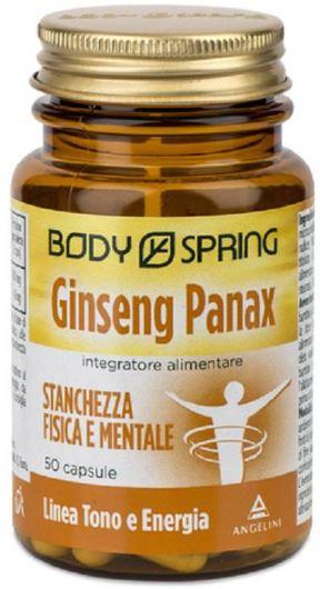 BODY SPRING GINSENG 50 CAPSULE - farmaciafalquigolfoparadiso.it