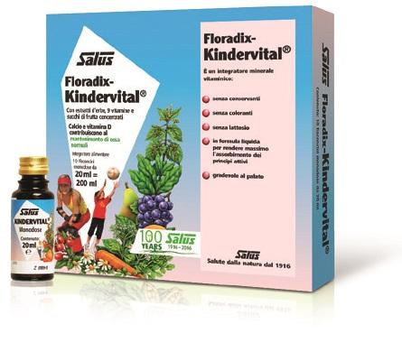 KINDERVITAL MONODOSE 10 FIALE - Farmacia Centrale Dr. Monteleone Adriano