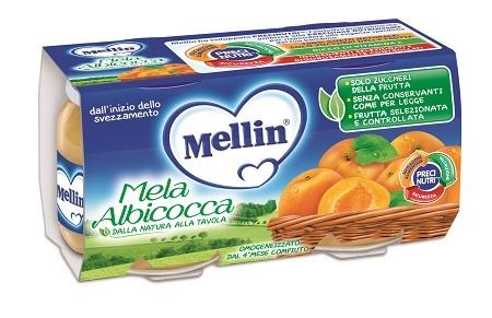MELLIN OMOGENEIZZATO MELA/ALBICOCCA 100 G 2 PEZZI - Farmacia Massaro