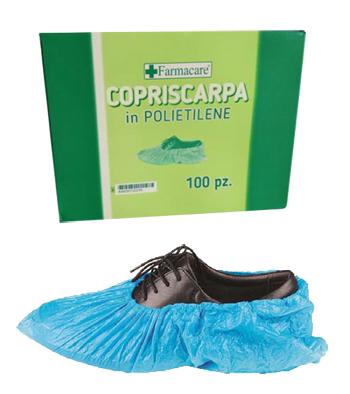 Copriscarpe in Polietilene 100 Pezzi - Sempredisponibile.it
