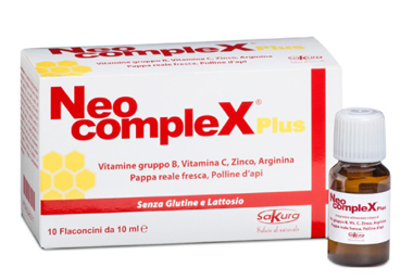 NEOCOMPLEX PLUS 10 FLACONCINI MONODOSE 10 ML - Farmapc.it