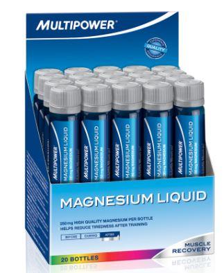 MAGNESIUM LIQUID 20 FIALE DA 25 ML - farmaventura.it