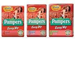 Pampers EasyUp XL Taglia 6 (16+ Kg) 26 Pezzi - Farmaseller