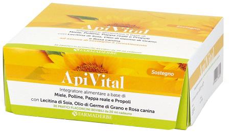 Farmaderbe Apitival 30F Integratore Contro Stress 20 ml offerta