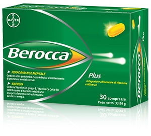 BEROCCA PLUS 30 COMPRESSE - Farmacia Giotti