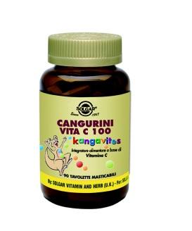 CANGURINI VITAMINA C 100 COMPRESSE MASTICABILI - farmaciadeglispeziali.it