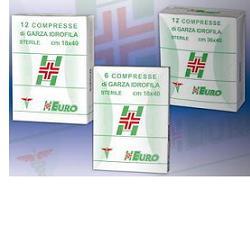 GARZA COMPRESSA STERILE CURAMED 10X10CM 100 PEZZI - Farmaseller