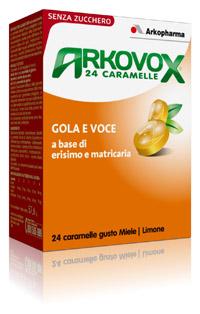 ARKOVOX MIELE/LIMONE 24 CARAMELLE - SUBITOINFARMA