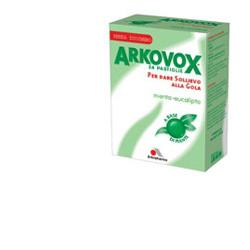 ARKOVOX MENTA/EUCALIPTO 24 CARAMELLE - Zfarmacia