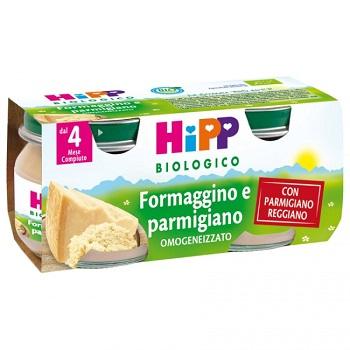 HIPP BIO HIPP BIO OMOGENEIZZATO FORMAGGINO AI TRE FORMA G GI 2X80 G - Farmafamily.it