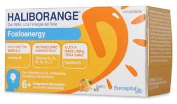 HALIBORANGE FOSFOENERGY 10 FLACONCINI 10 ML - farmaciadeglispeziali.it