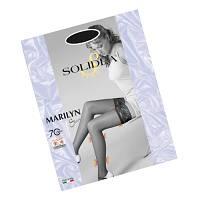 Solidea Marilyn Sheer 70 DEN Calza Autoreggente Compressiva Colore Glacè Taglia 4 L offerta