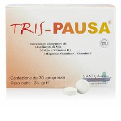 TRIS PAUSA 30 COMPRESSE - Spacefarma.it