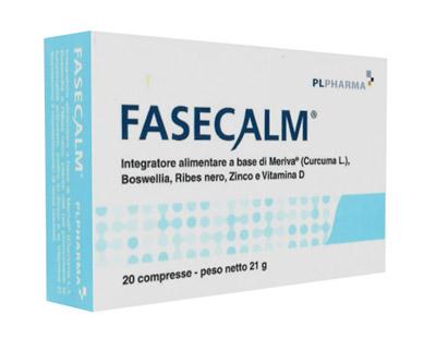 FASECALM 20 COMPRESSE - Parafarmacia Tranchina