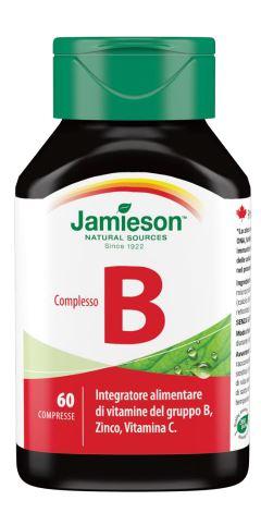 COMPLESSO B JAMIESON 60 COMPRESSE - Farmacia Massaro