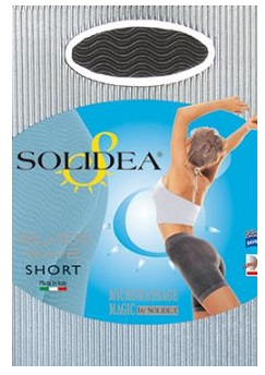 Solidea Silver Wave Short Pantaloncino Micromassaggiante Colore Champagne Taglia ML offerta
