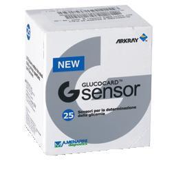 STRISCE MISURAZIONE GLICEMIA GLUCOCARD G SENSOR 25 PEZZI - Farmacia 33