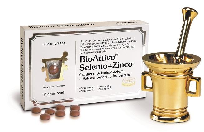 BIOATTIVO SELENIO + ZINCO 60 COMPRESSE - Parafarmacia la Fattoria della Salute S.n.c. di Delfini Dott.ssa Giulia e Marra Dott.ssa Michela