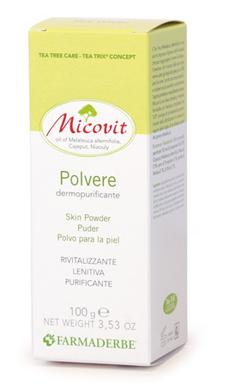 MICOVIT POLVERE 100 G - Zfarmacia