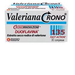 VALERIANA CRONO 135 CON DUOFLAVINA FAST ACTION 30 COMPRESSE - Farmabellezza.it