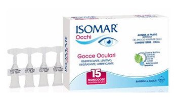 ISOMAR OCCHI GOCCE OCULARI ALL'ACIDO IALURONICO 0,20% 15 FLACONCINI - Sempredisponibile.it
