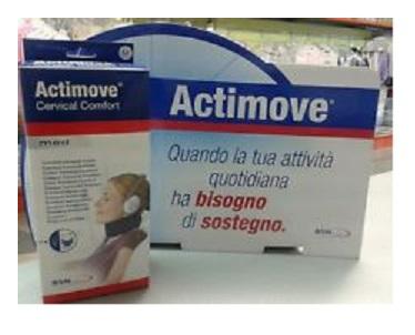 COLLARE CERVICALE ACTIMOVE CERVICAL M - Farmabaleno